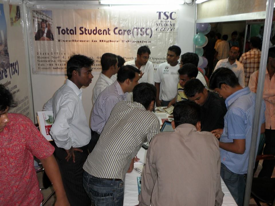Students registering interests