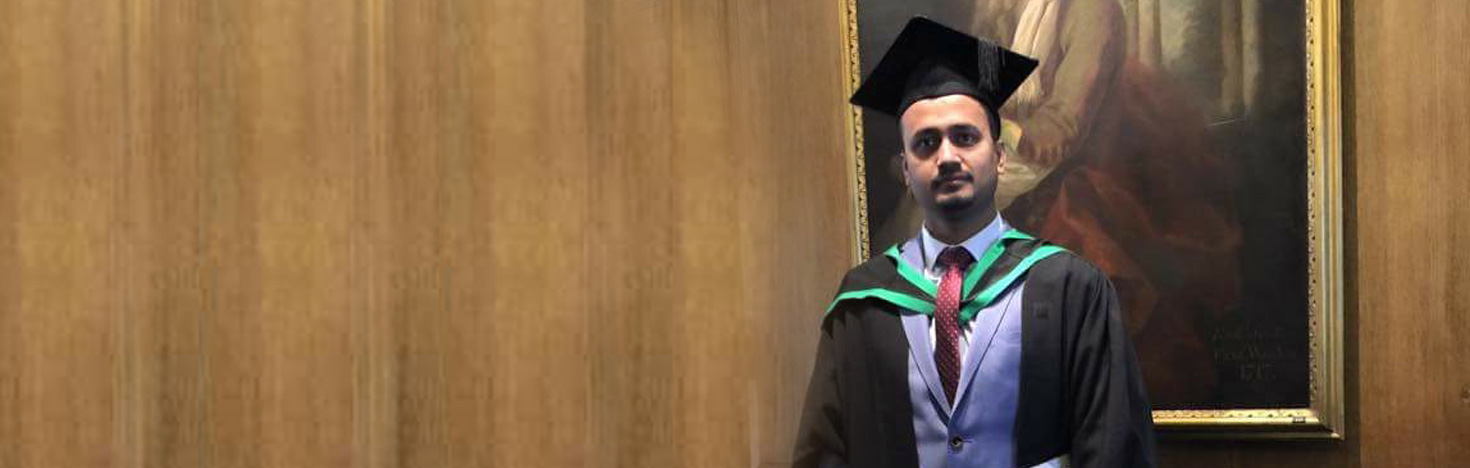 Md Mizanur Rahman, MSc Finance student<br> International student from Bangladesh