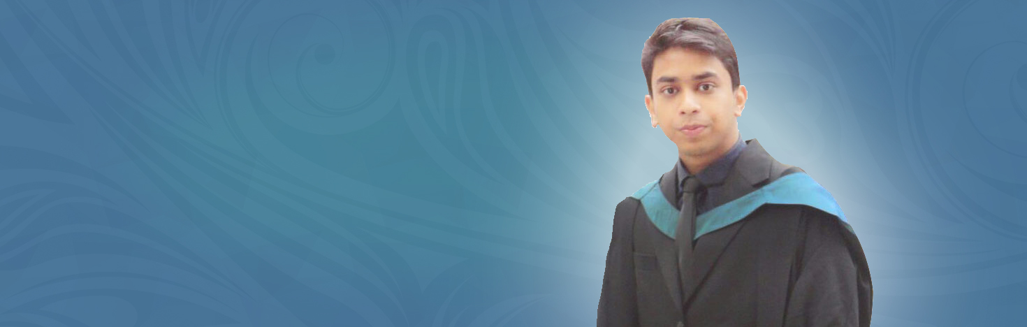 Saurav Datta, MBA graduate <br>   International student from Bangladesh